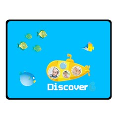 Summer Kids By Kids   Double Sided Fleece Blanket (small)   Zz88t7851e9u   Www Artscow Com 45 x34 Blanket Back