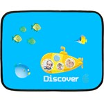 summer kids - Double Sided Fleece Blanket (Mini)