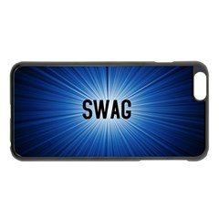 Swag Apple Iphone 6 Plus Black Enamel Case by centralcharms1
