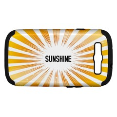 Sun Samsung Galaxy S Iii Hardshell Case (pc+silicone) by centralcharms1