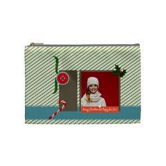 Xmas By Xmas   Cosmetic Bag (medium)   Ybutdeeeaaeu   Www Artscow Com Front