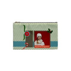 Xmas By Xmas   Cosmetic Bag (small)   Hu2ws1vququl   Www Artscow Com Front