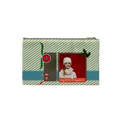 Xmas By Xmas   Cosmetic Bag (small)   Hu2ws1vququl   Www Artscow Com Back