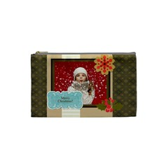 Xmas By Xmas   Cosmetic Bag (small)   B9mz38hsqh4e   Www Artscow Com Front
