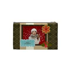 Xmas By Xmas   Cosmetic Bag (small)   B9mz38hsqh4e   Www Artscow Com Back