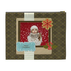 Xmas By Xmas   Cosmetic Bag (xl)   Yhbm0bwq87i4   Www Artscow Com Back