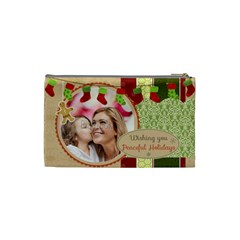 Xmas By Xmas   Cosmetic Bag (small)   Cqxvo0lwk6e7   Www Artscow Com Back