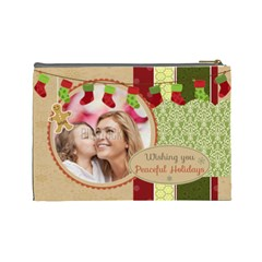 Xmas By Xmas   Cosmetic Bag (large)   Nmi0er0uo54y   Www Artscow Com Back