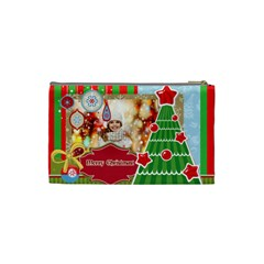 Xmas By Xmas   Cosmetic Bag (small)   Trfamexb07lq   Www Artscow Com Back