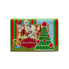 Xmas By Xmas   Cosmetic Bag (medium)   S8tjykmaqmki   Www Artscow Com Front