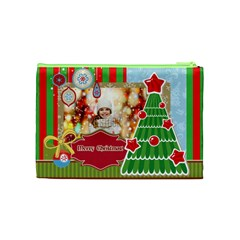 Xmas By Xmas   Cosmetic Bag (medium)   S8tjykmaqmki   Www Artscow Com Back
