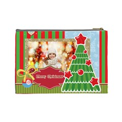 Xmas By Xmas   Cosmetic Bag (large)   2p7xxxzkyk3z   Www Artscow Com Back