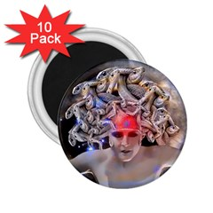 Medusa 2 25  Button Magnet (10 Pack) by icarusismartdesigns