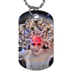 Medusa Dog Tag (two Sided)  by icarusismartdesigns
