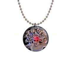 Medusa Button Necklace by icarusismartdesigns