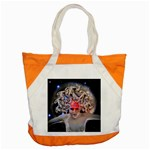 Medusa Accent Tote Bag Front
