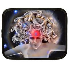 Medusa Netbook Sleeve (xxl) by icarusismartdesigns
