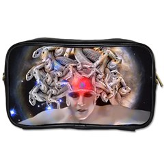 Medusa Travel Toiletry Bag (two Sides) by icarusismartdesigns