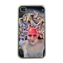 Medusa Apple Iphone 4 Case (clear) by icarusismartdesigns