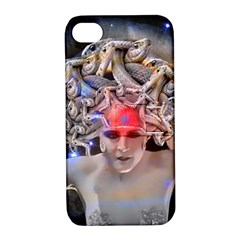 Medusa Apple Iphone 4/4s Hardshell Case With Stand by icarusismartdesigns