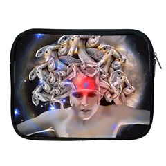 Medusa Apple Ipad Zippered Sleeve by icarusismartdesigns