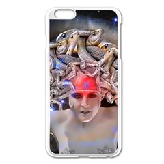 Medusa Apple Iphone 6 Plus Enamel White Case by icarusismartdesigns
