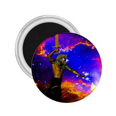 Star Fighter 2 25  Button Magnet by icarusismartdesigns