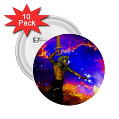 Star Fighter 2 25  Button (10 Pack) by icarusismartdesigns