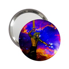 Star Fighter Handbag Mirror (2 25 ) by icarusismartdesigns