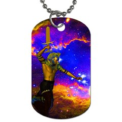 Star Fighter Dog Tag (one Sided)