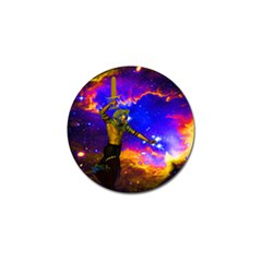 Star Fighter Golf Ball Marker 4 Pack by icarusismartdesigns