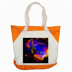 Star Fighter Accent Tote Bag by icarusismartdesigns