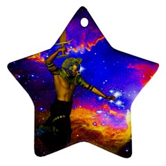 Star Fighter Star Ornament (two Sides) by icarusismartdesigns