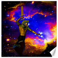 Star Fighter Canvas 12  X 12  (unframed) by icarusismartdesigns