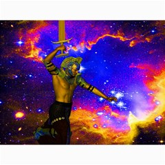 Star Fighter Canvas 18  X 24  (unframed) by icarusismartdesigns