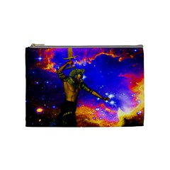 Star Fighter Cosmetic Bag (medium) by icarusismartdesigns