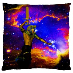 Star Fighter Large Cushion Case (two Sided)  by icarusismartdesigns