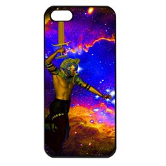 Star Fighter Apple Iphone 5 Seamless Case (black) by icarusismartdesigns