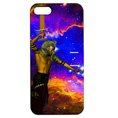 Star Fighter Apple Iphone 5 Hardshell Case With Stand by icarusismartdesigns