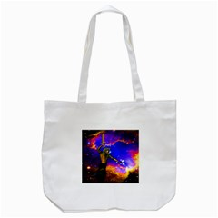 Star Fighter Tote Bag (white) by icarusismartdesigns