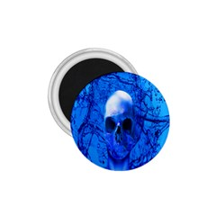 Alien Blue 1 75  Button Magnet by icarusismartdesigns