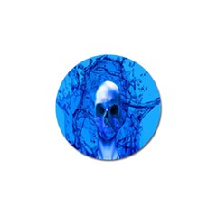 Alien Blue Golf Ball Marker 10 Pack by icarusismartdesigns