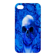 Alien Blue Apple Iphone 4/4s Hardshell Case by icarusismartdesigns