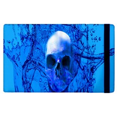 Alien Blue Apple Ipad 3/4 Flip Case by icarusismartdesigns