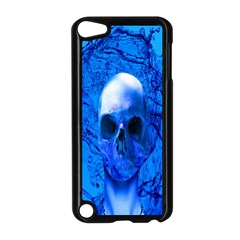 Alien Blue Apple Ipod Touch 5 Case (black) by icarusismartdesigns