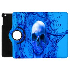 Alien Blue Apple Ipad Mini Flip 360 Case by icarusismartdesigns