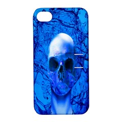 Alien Blue Apple Iphone 4/4s Hardshell Case With Stand by icarusismartdesigns
