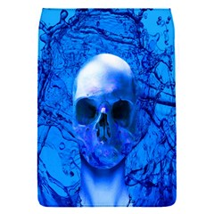 Alien Blue Removable Flap Cover (small) by icarusismartdesigns