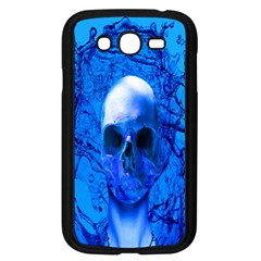 Alien Blue Samsung Galaxy Grand Duos I9082 Case (black) by icarusismartdesigns