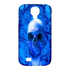 Alien Blue Samsung Galaxy S4 Classic Hardshell Case (pc+silicone) by icarusismartdesigns